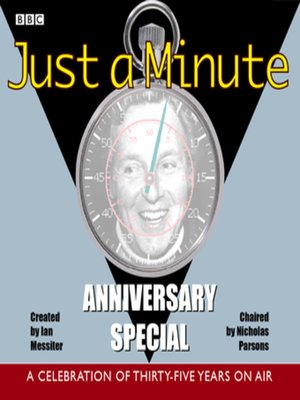 cover image of Just a Minute--Anniversary Special