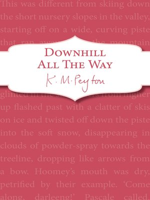 cover image of Downhill All the Way