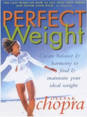 cover image of Perfect Weight