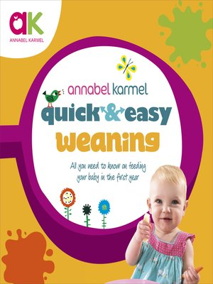 cover image of Quick and Easy Weaning