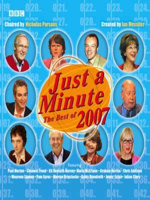 cover image of Just a Minute
