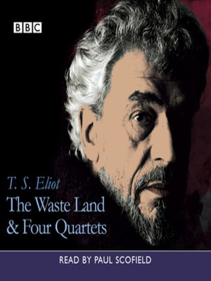 cover image of Waste Land, the & Four Quartets