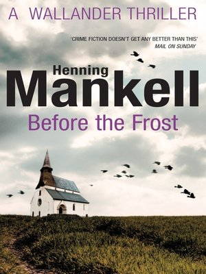 cover image of Before the Frost