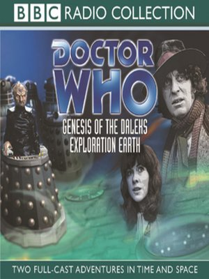 cover image of Genesis of the Daleks / Exploration Earth