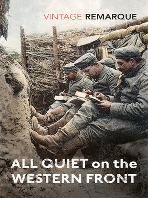 all quiet on the western front epub