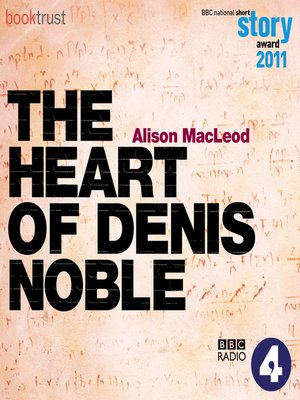 cover image of The Heart of Denis Noble
