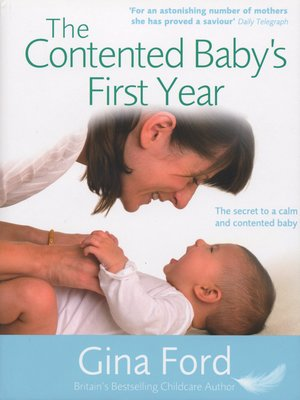 cover image of The Contented Baby's First Year