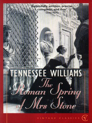 cover image of The Roman Spring of Mrs Stone