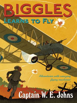 cover image of Biggles Learns to Fly