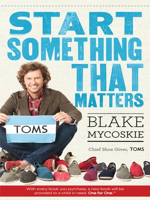 cover image of Start Something That Matters