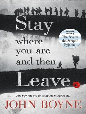 cover image of Stay Where You Are and Then Leave