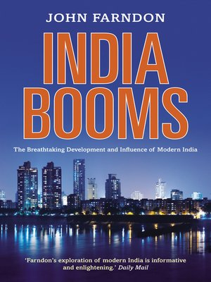 cover image of India Booms