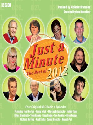 cover image of Just a Minute--The Best of 2012