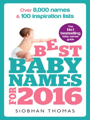 cover image of Best Baby Names for 2016