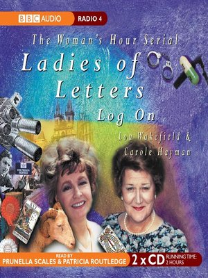 cover image of Ladies of Letters Log On