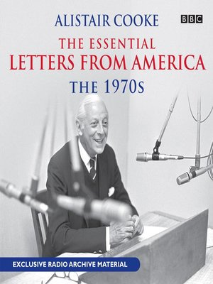 cover image of Alistair Cooke: The Essential Letters from America