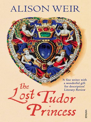 cover image of The Lost Tudor Princess