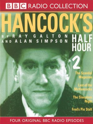 cover image of Hancock's Half Hour, Series 2