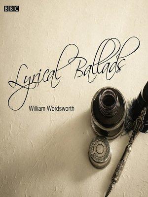 cover image of Lyrical Ballads