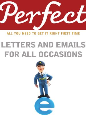 cover image of Perfect Letters and Emails for All Occasions