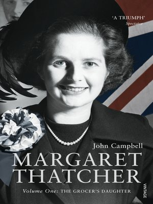 cover image of Margaret Thatcher, Volume One