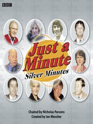 cover image of Just a Minute--Silver Minutes