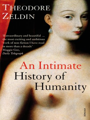 cover image of An Intimate History of Humanity