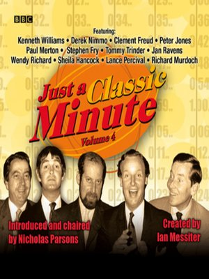 cover image of Just a Classic Minute, Volume 4