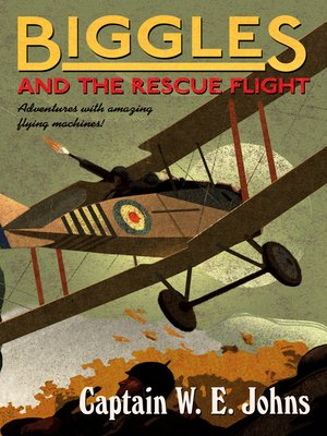 cover image of Biggles and the Rescue Flight