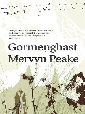 cover image of Gormenghast