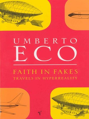 cover image of Faith In Fakes