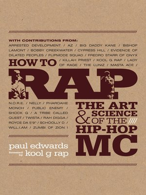 how to rap book paul edwards pdf