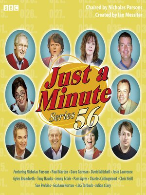 cover image of Just a Minute, Series 56
