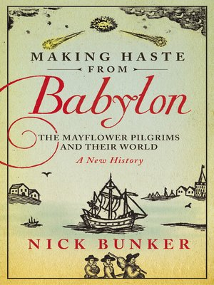 cover image of Making Haste From Babylon