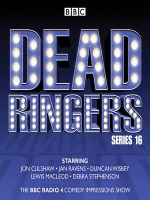 cover image of Dead Ringers--Series 16 plus Christmas Specials