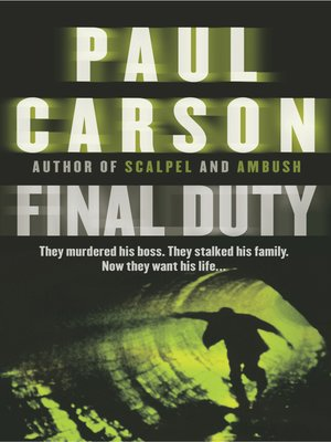 cover image of Final Duty