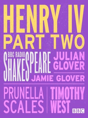 cover image of Henry IV, Part Two