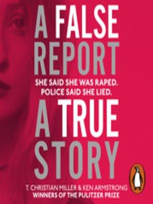 cover image of A False Report