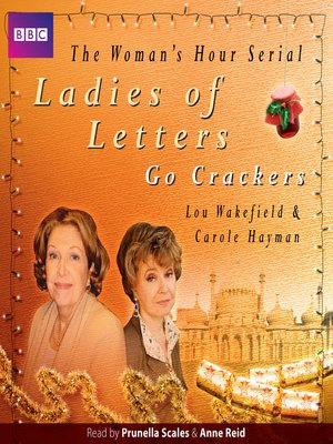 cover image of Ladies of Letters Go Crackers