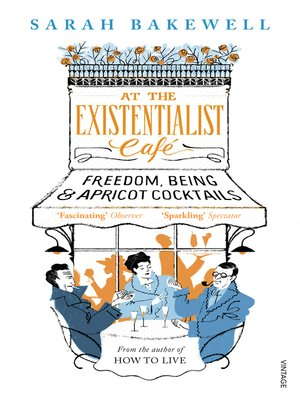 cover image of At the Existentialist Café