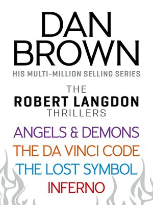 cover image of Dan Brown's Robert Langdon Series