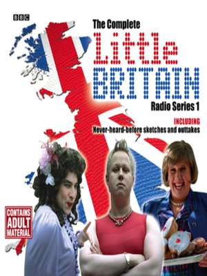 cover image of Little Britain  the Complete Radio Series 1