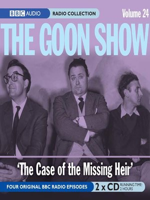 cover image of The Case of the Missing Heir