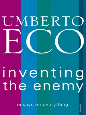 cover image of Inventing the Enemy