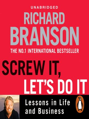 cover image of Screw It, Let's Do It