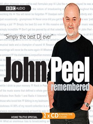 cover image of John Peel Remembered