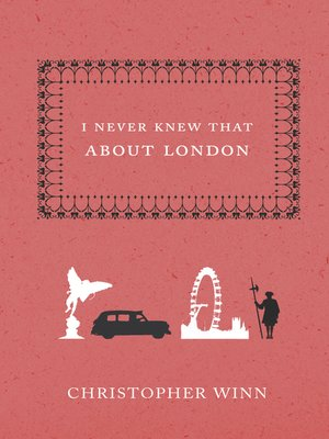 cover image of I Never Knew That About London