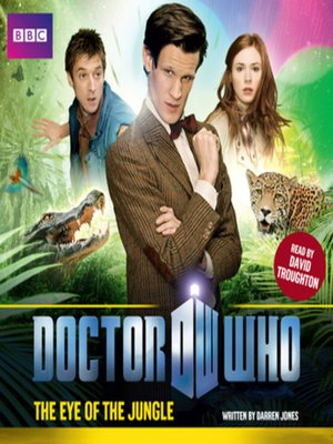 cover image of Doctor Who--The Eye of the Jungle