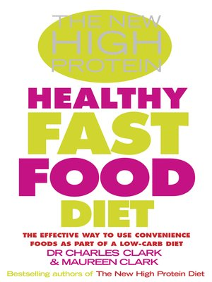 cover image of The New High Protein Healthy Fast Food Diet