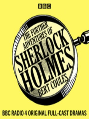 cover image of The Further Adventures of Sherlock Holmes